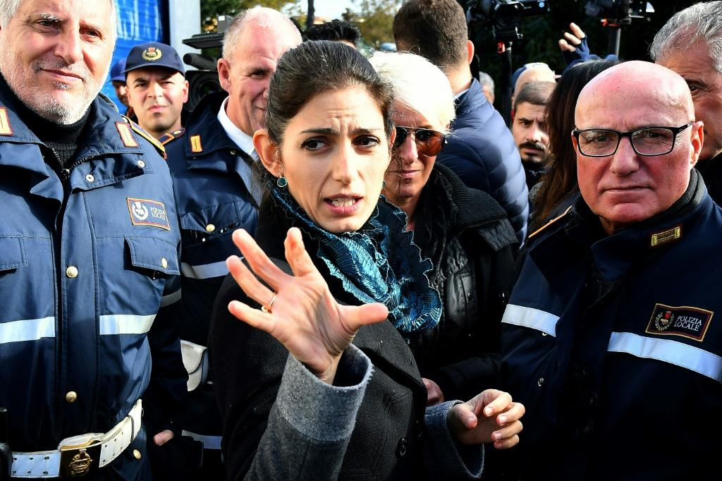 Rome Mayor Virginia Raggi vows not to let up the fight against the Casamonica crime family