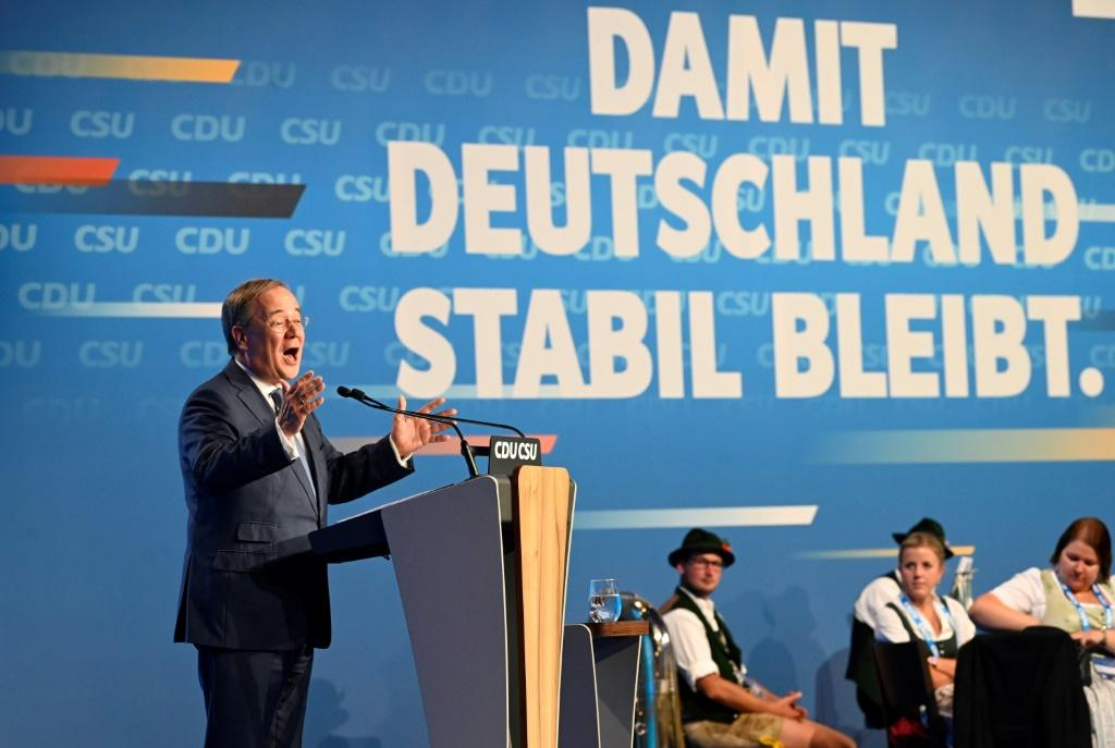'To keep Germany stable, Armin Laschet must become chancellor,' Merkel said, refering to the conservative Christian Democratic Union (CDU) leader