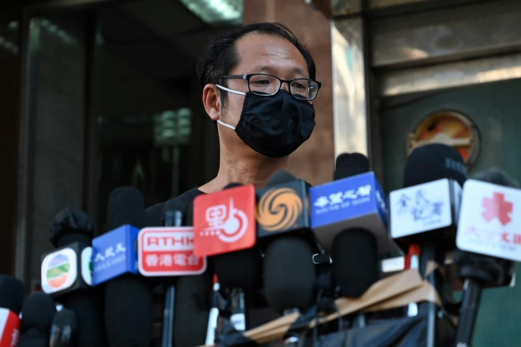 Richard Tsoi of the Hong Kong Alliance discusses the disbanding of the pro-democracy group that organised annual Tiananmen vigils