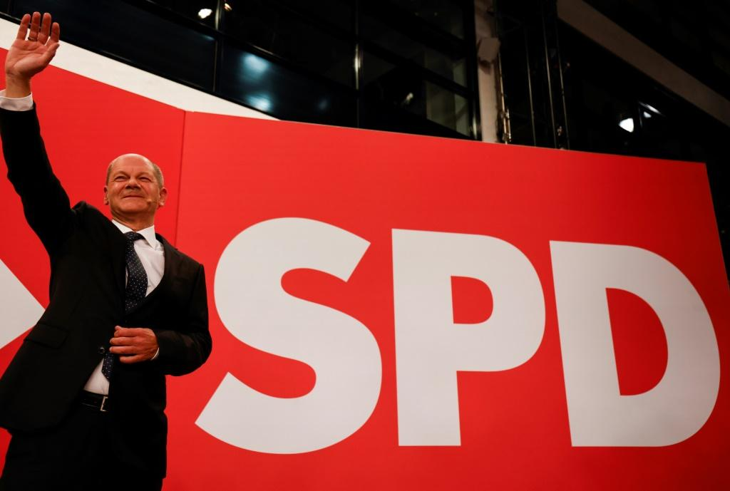 The centre-left Social Democrats' Olaf Scholz ran an error-free campaign that cast him as a safe pair of hands