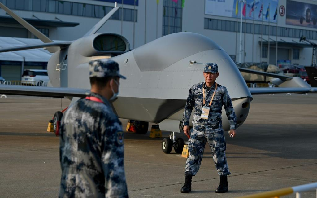 China's WZ-7 high-altitude drone for border reconnaissance and maritime patrol has already entered service with the air force, according to state media