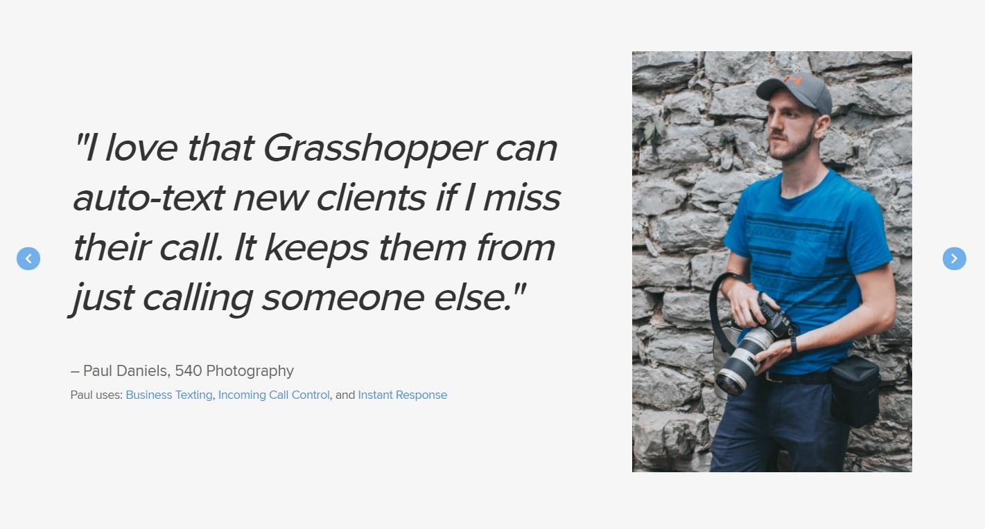 Grasshopper reviews from small business owners