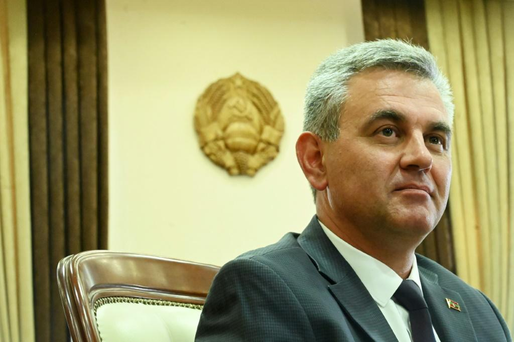 """President of Transnistria Vadim Krasnoselsky has hailed Sheriff's role as a """"reliable partner"""" which invests and creates jobs"""