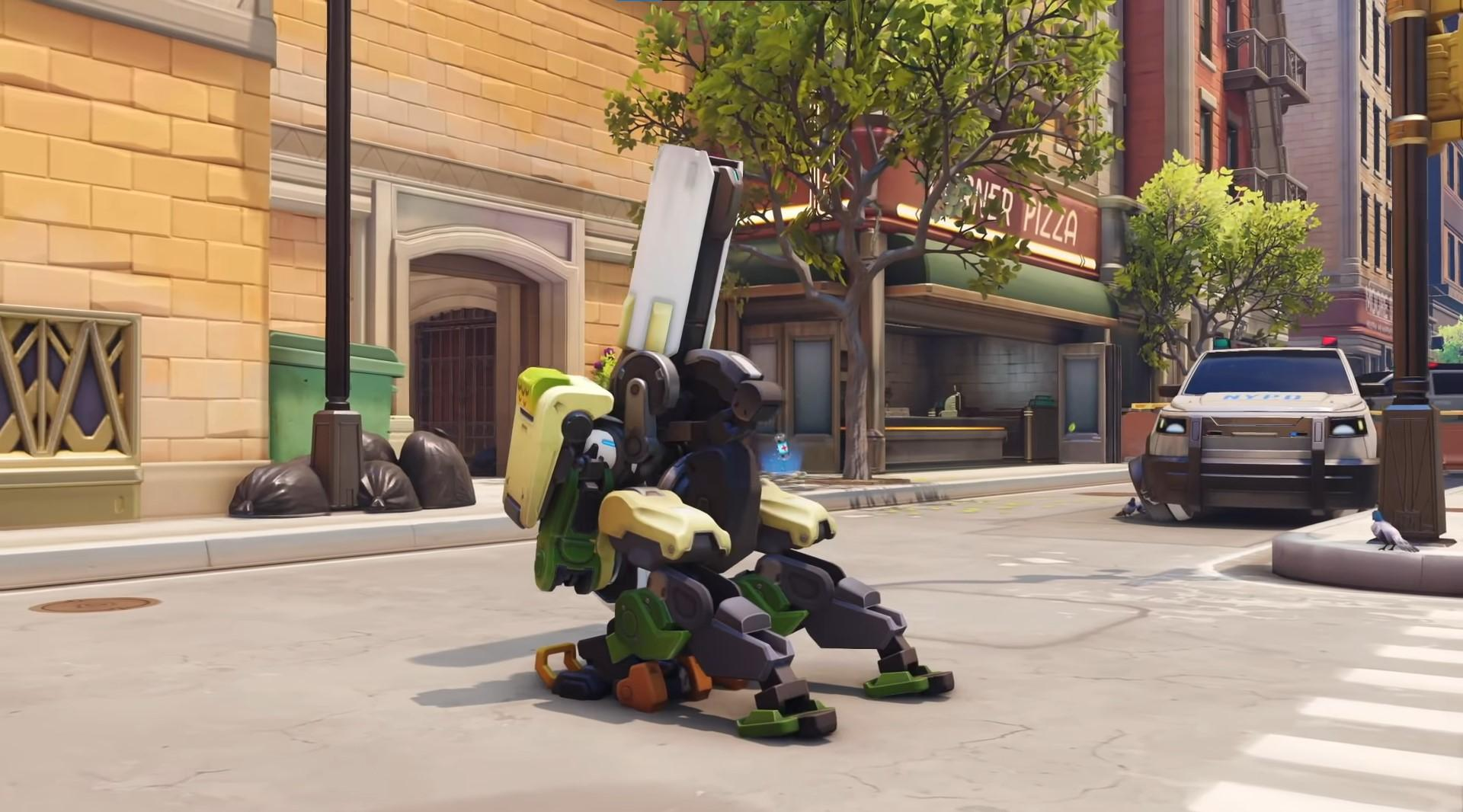 Bastion's rework now turns him into a stationary cannon that can shoot explosive shells at enemies from anywhere in the map