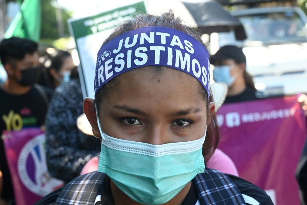"""In El Salvador, where abortion is banned in all cases, women seeking the procedure can face up to eight years in prison for """"aggravated homicide"""