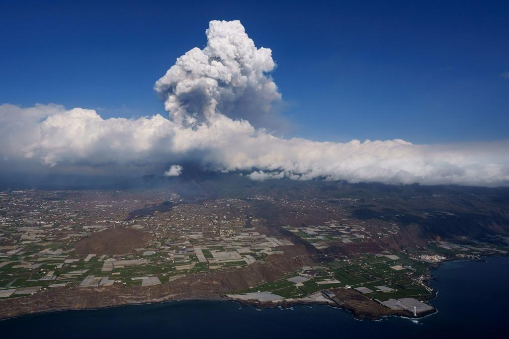 La Cumbre Vieja volcano erupted on September 19, spewing out rivers of lava that have slowly crept towards the sea
