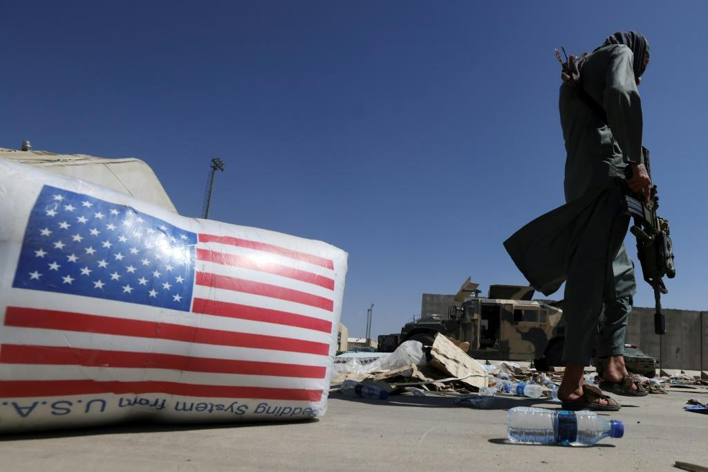 Taliban forces took over the airport in Kabul after the US military pulled out