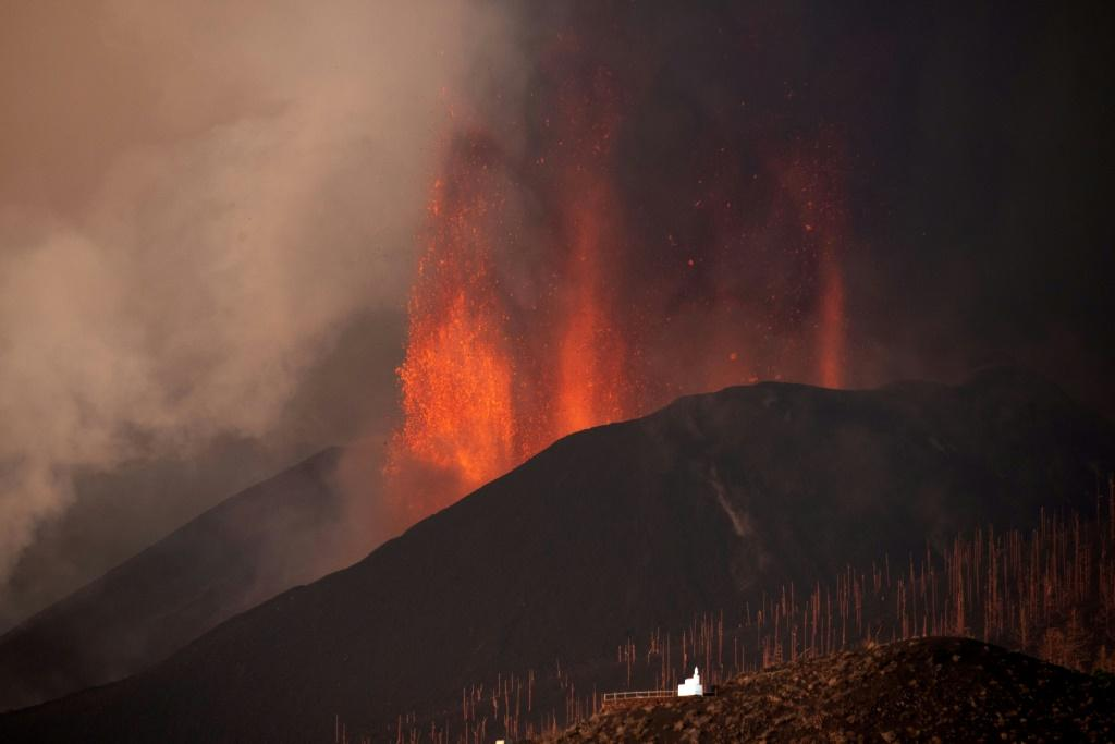 The eruption has forced the evacuation of more than 6,000 people from their homes