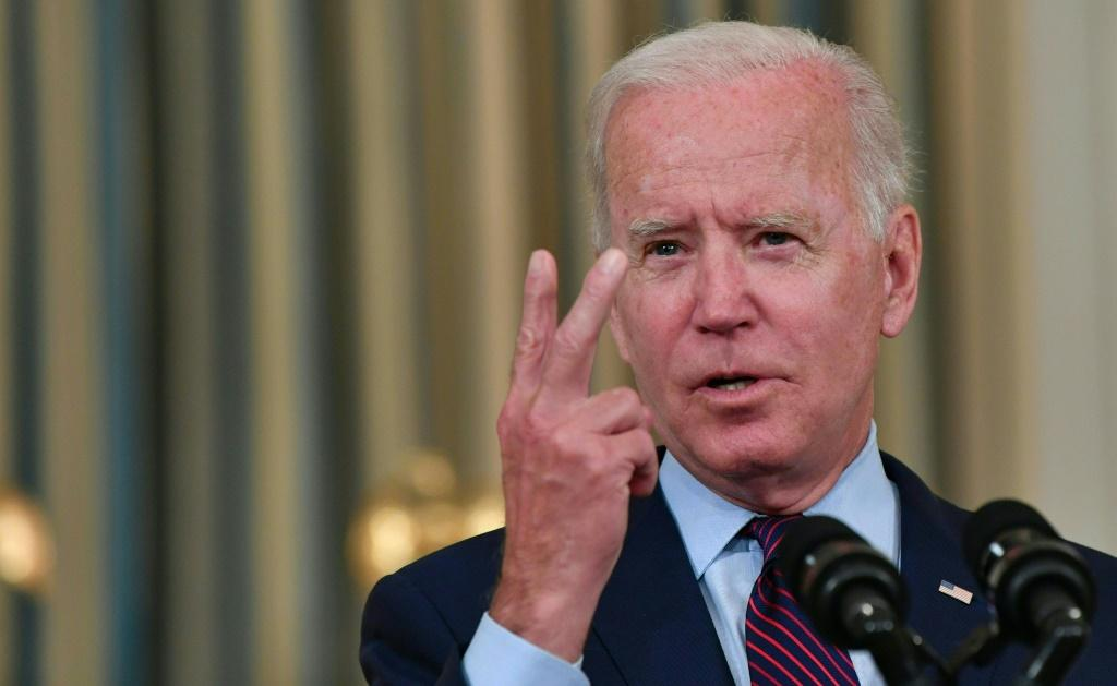 Joe Biden has hit out at Republicans for blocking Democrat moves to raise the debt ceiling, which has fanned fears of a US default this month