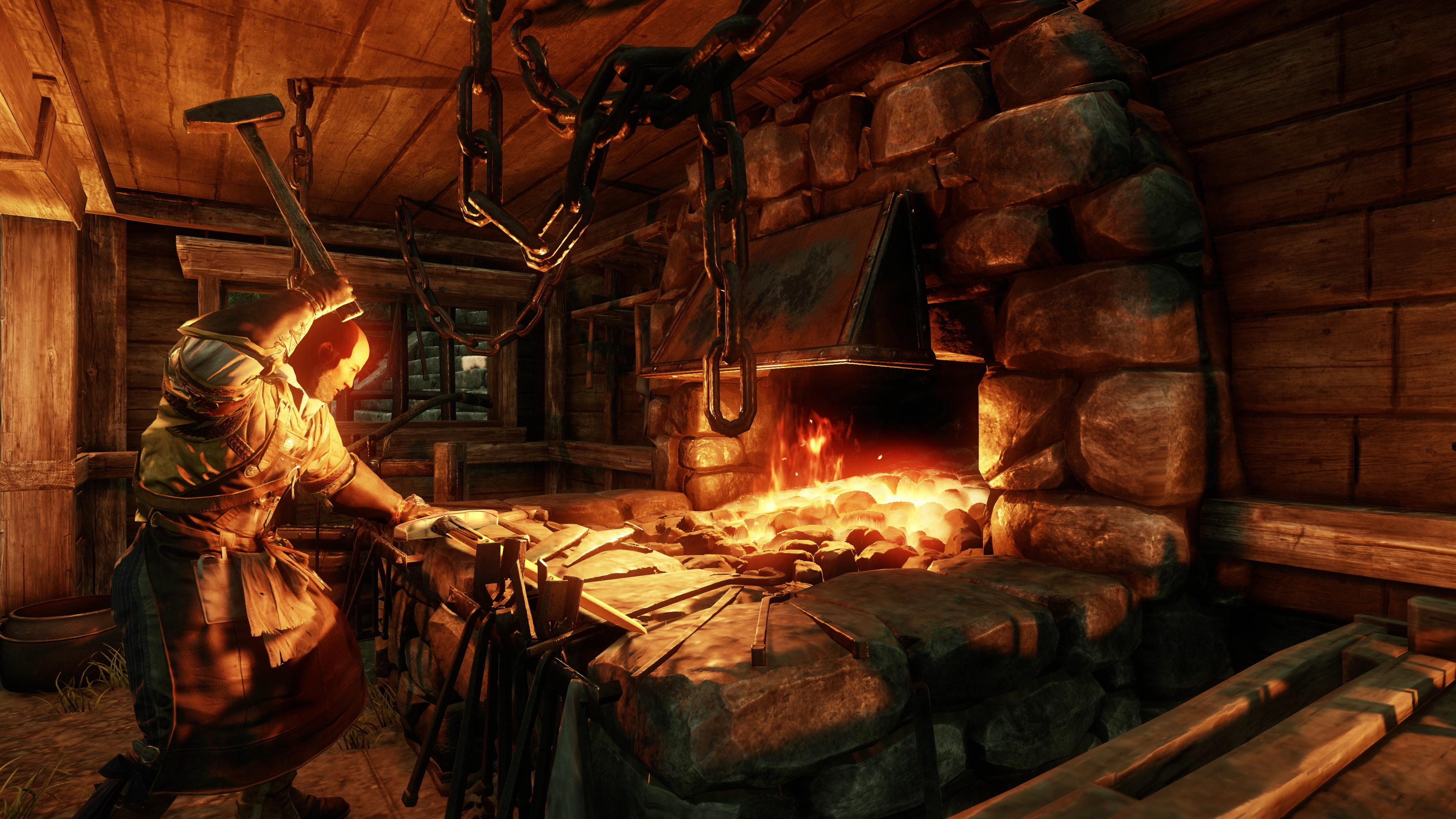 New World lets players craft their own weapons, armor and provisions