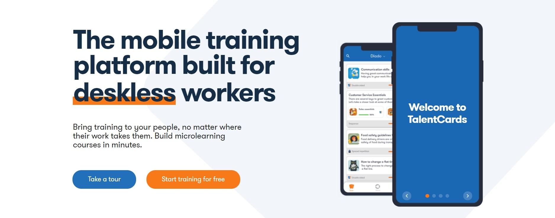 TalentCards brings training to anyone anywhere