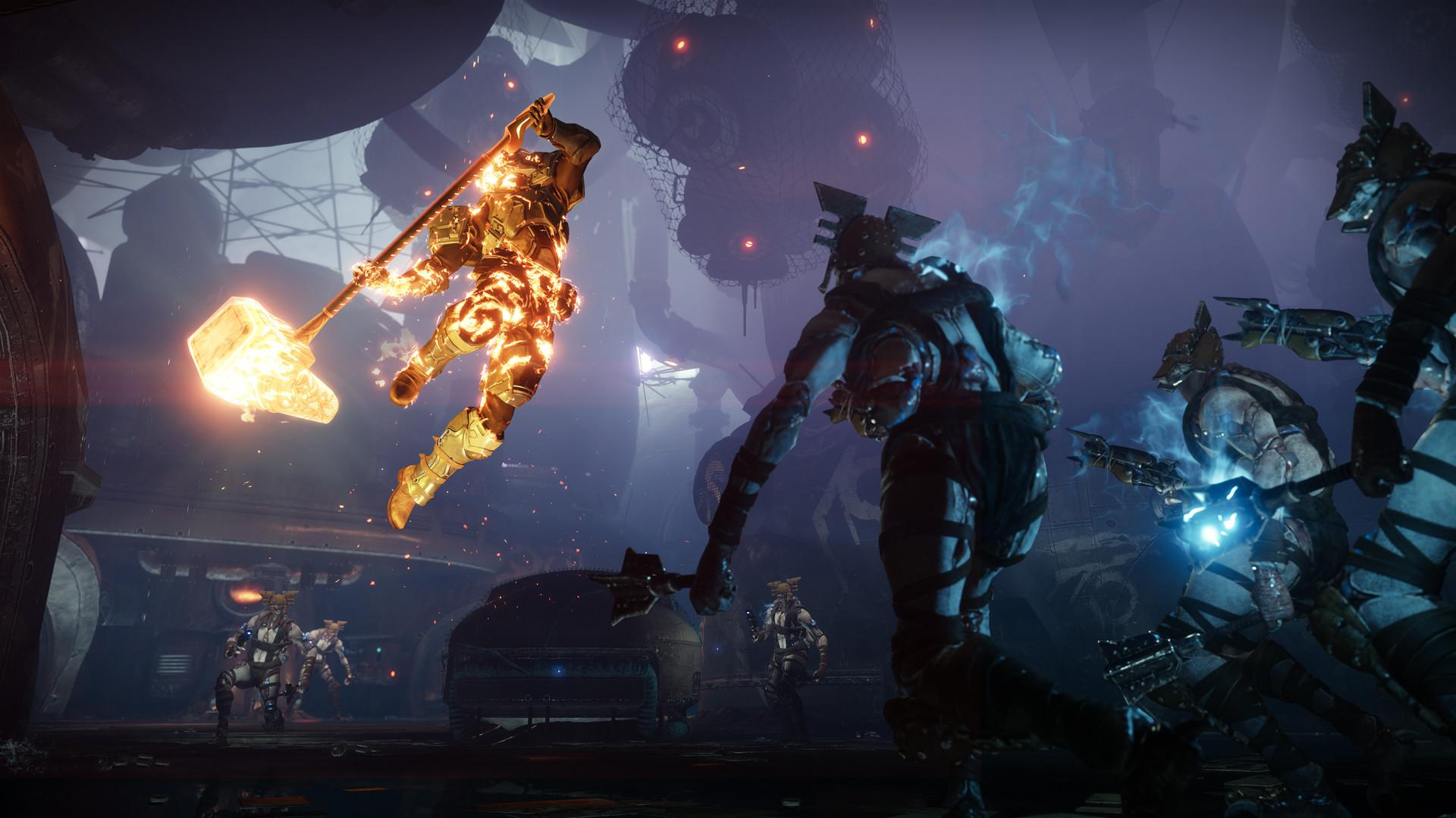 Destiny 2 Forsaken added the Scorn, a new enemy faction found mainly in the Tangled Shore and Dreaming City