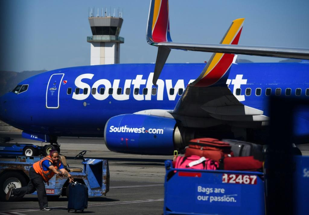 Southwest Airlines cancelled more than 1,000 flights on October 10, 2021 due to what the carrier described as weather and air traffic control problems
