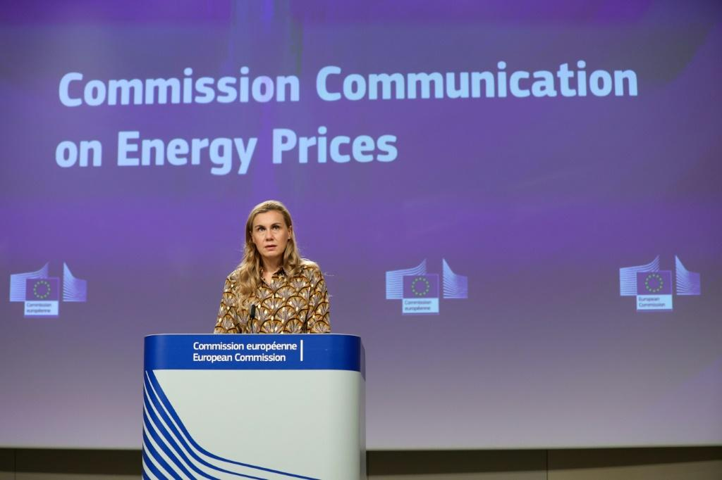 """Consumers' """"concern is understandable, justified,"""" said EU energy commissioner Kadri Simson as she unveiled the proposals"""