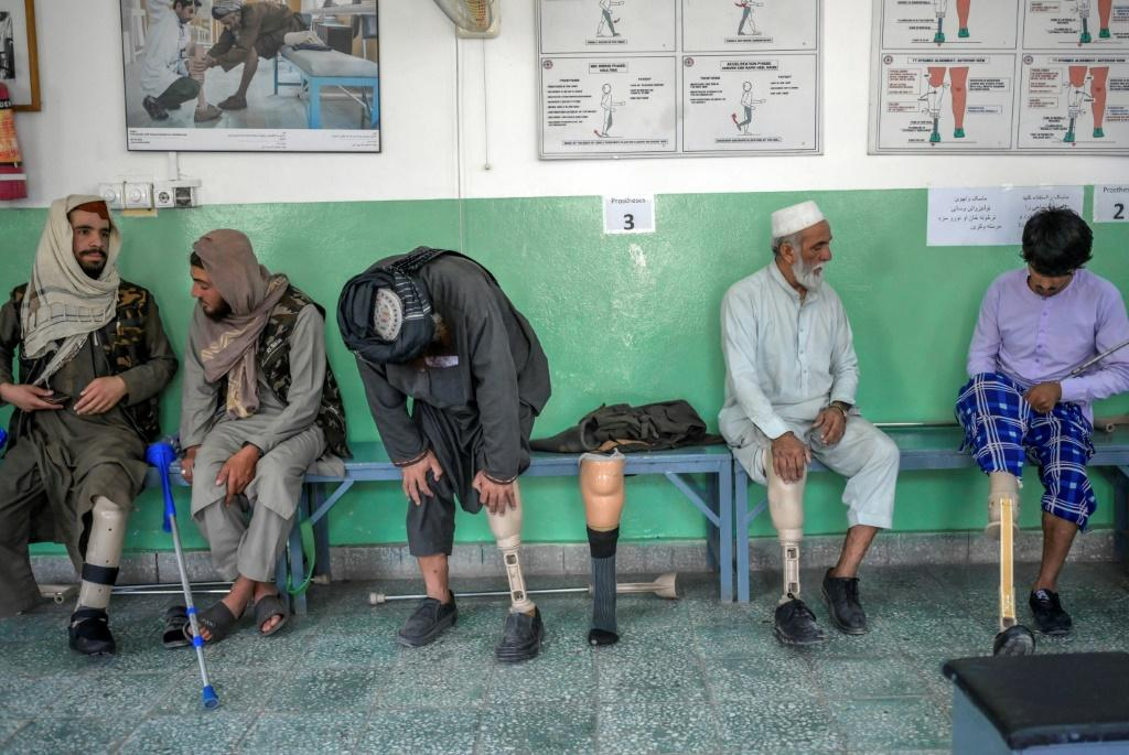 In Afghanistan, with poor health services and where the disabled typically become heavy burdens on their families, being equipped with new limbs and learning to walk again is a privilege