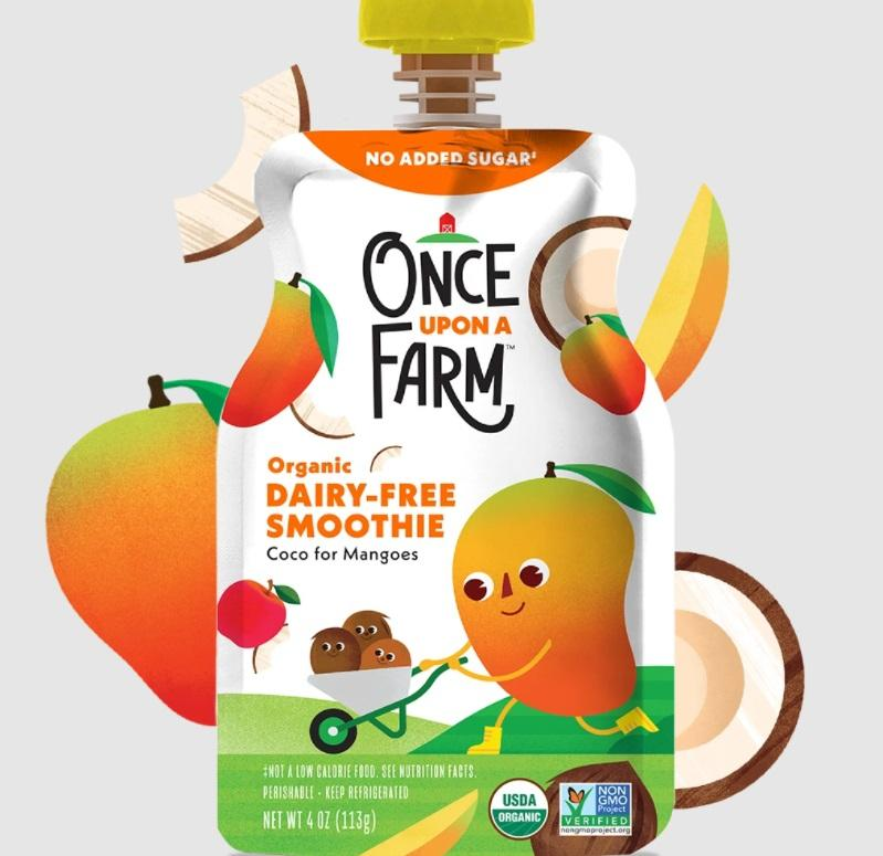 Once Upon A Farm Coco For Mangoes Dairy-Free Smoothie
