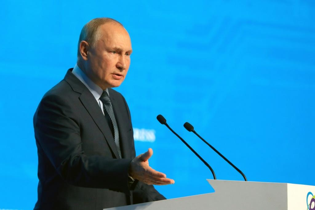 President Vladimir Putin has said Russia is fulfilling all of its obligations to Europe in gas deliveries