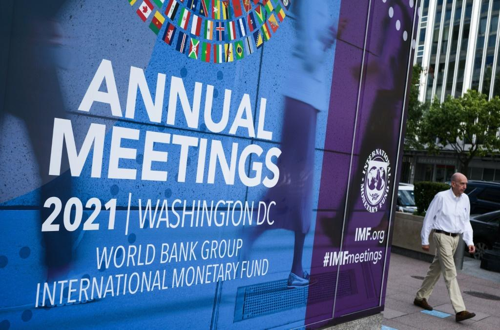 Supply chain bottlenecks that threaten to hobble the global recovery will be a focus of discussion at the annual meetings of the World Bank and IMF