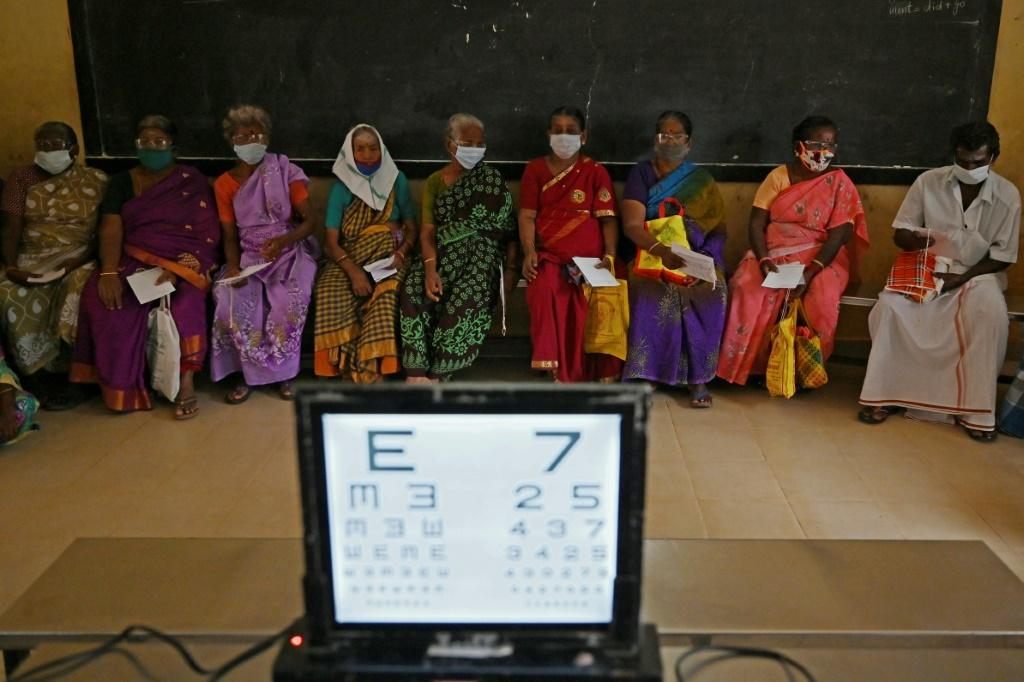 There are an estimated 10 million blind people in India, with a further 50 million suffering from some form of visual impairment