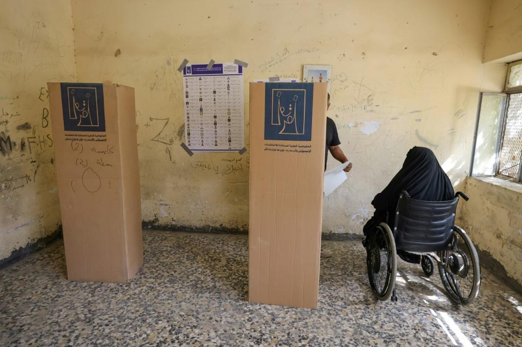 War-scarred Iraq -- an oil-rich country plagued by corruption and poverty -- held its fifth parliamentary elections since the 2003 US-led invasion toppled dictator Saddam Hussein