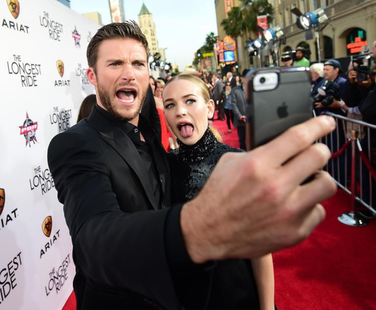 Celebs Love To Pull Funny Faces: Scott Eastwood And Britt Robertson and ...