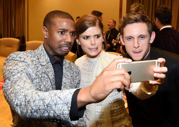 ... Michael B. Jordan, Kate Mara and Jamie Bell
