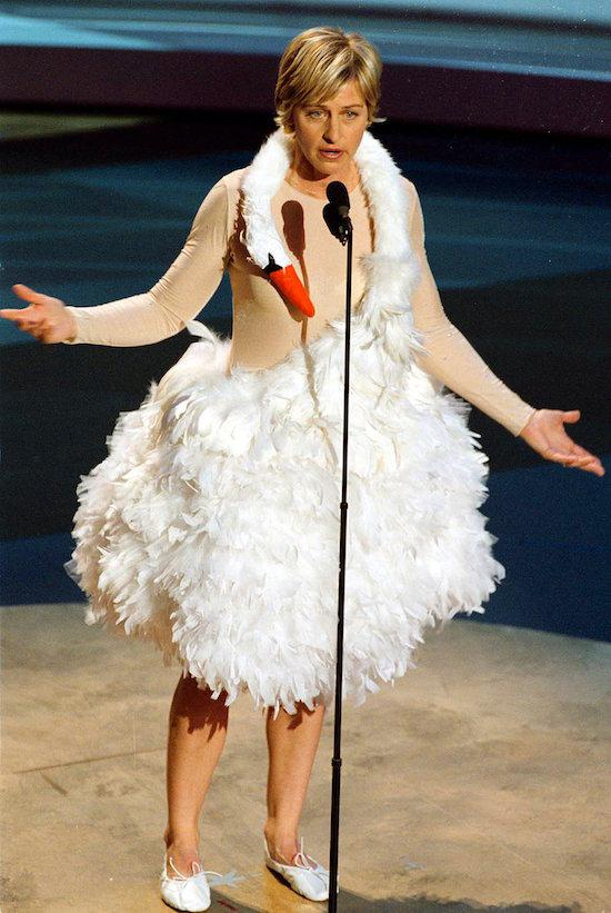 Most OMG Emmys Moments Ever: The Swan Dress