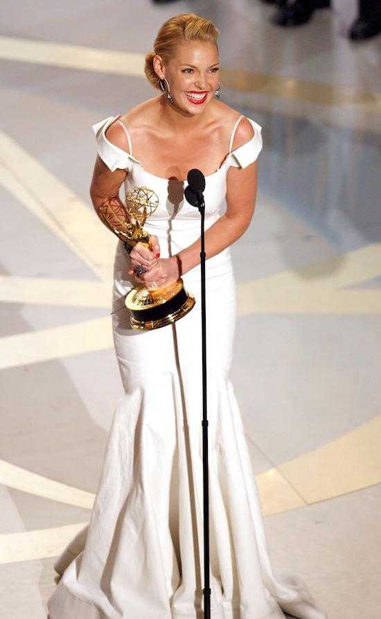 Most OMG Emmys Moments Ever: Katherine Heigl's Expletive Not-Quite Deleted