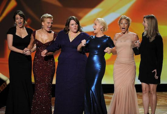 Most OMG Emmys Moments Ever: Outstanding Lead Actresses in a Comedy Rush the Stage