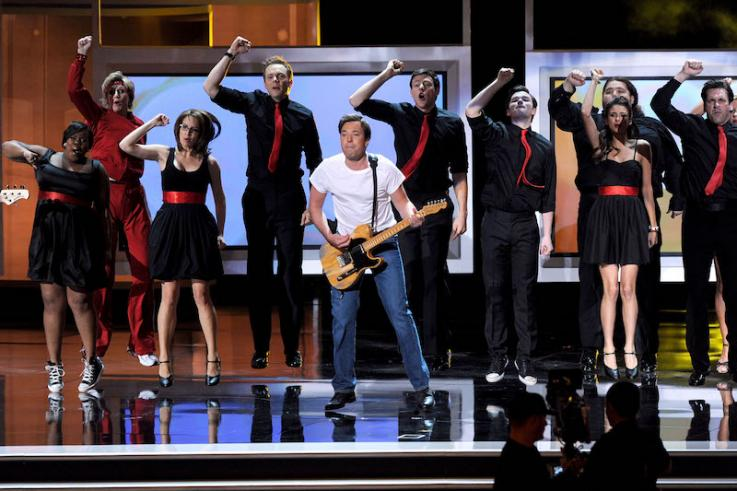 Most OMG Emmys Moments Ever: Jimmy Fallon's 'Born to Run' Opening Number