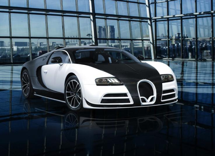 Limited Edition Bugatti Veyron by Masonry Vivere - $3.4 million