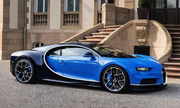 Bugatti Chiron - $2.5 million