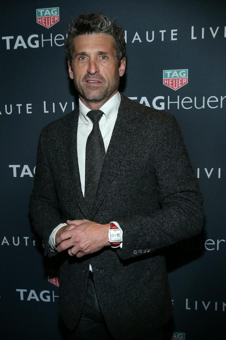 Patrick Dempsey Celebrates Haute Living La Cover With Tag Heuer At
