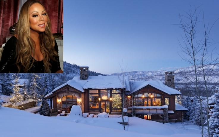 Mariah Carey Celebrates Christmas In $22 Million Airbnb In Aspen