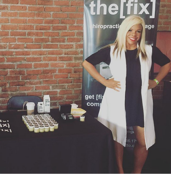 Dr. Liza of the[fix] chiropractic + massage,