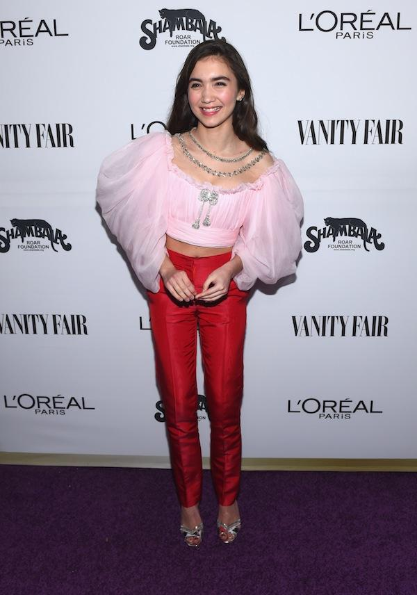 25899b585115 Best-Dressed At The Vanity Fair And L Oreal Paris Toast To Young ...