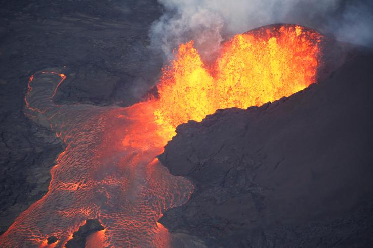 Mount Kilauea Eruption