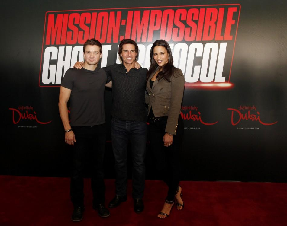 Tom Cruise in 'Ghost Protocol' featuring Eminem, plus