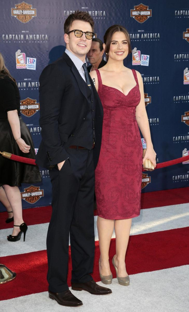 Captain America The First Avenger Premieres In La Photos
