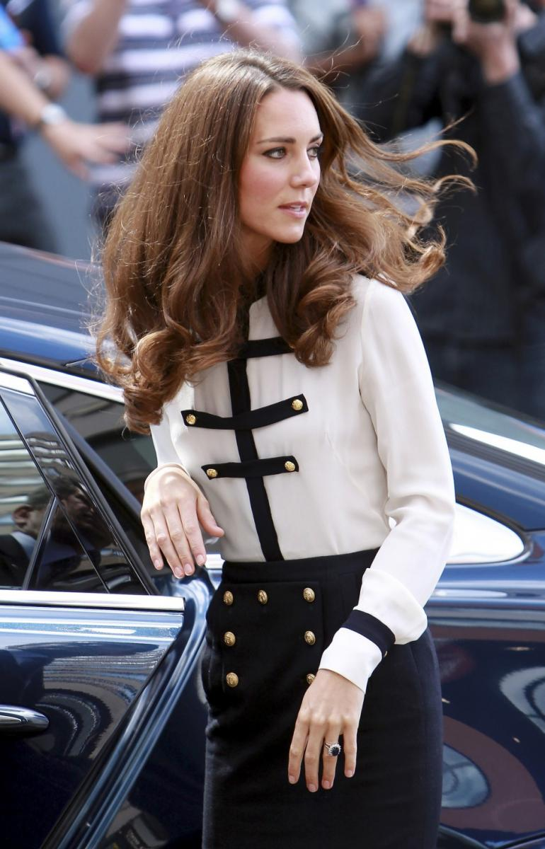 Kate Middleton Looks Absolutely Stunning While Visiting