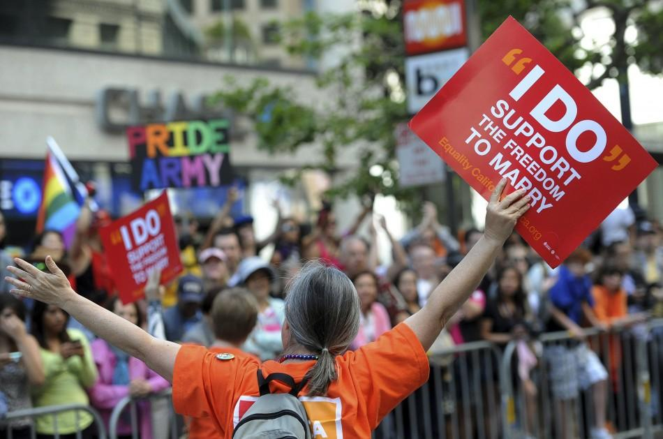 Photo: Reuters The National Organization for Marriage NOM outlined a plan to defeat samesex marriage
