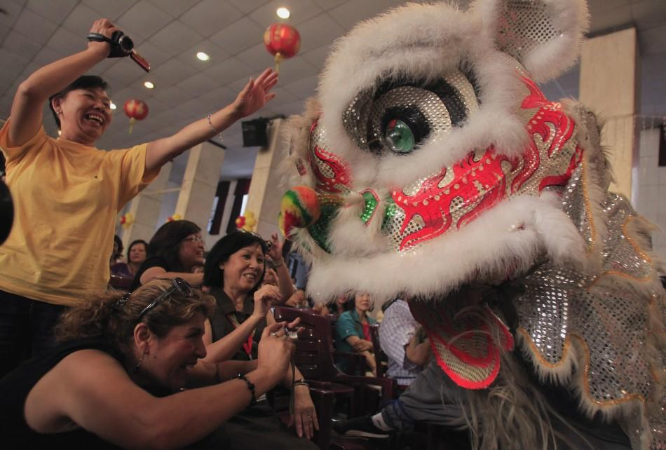 Chinese New Year 2012 Photos: Dragon-Dance, Lion-Dance and