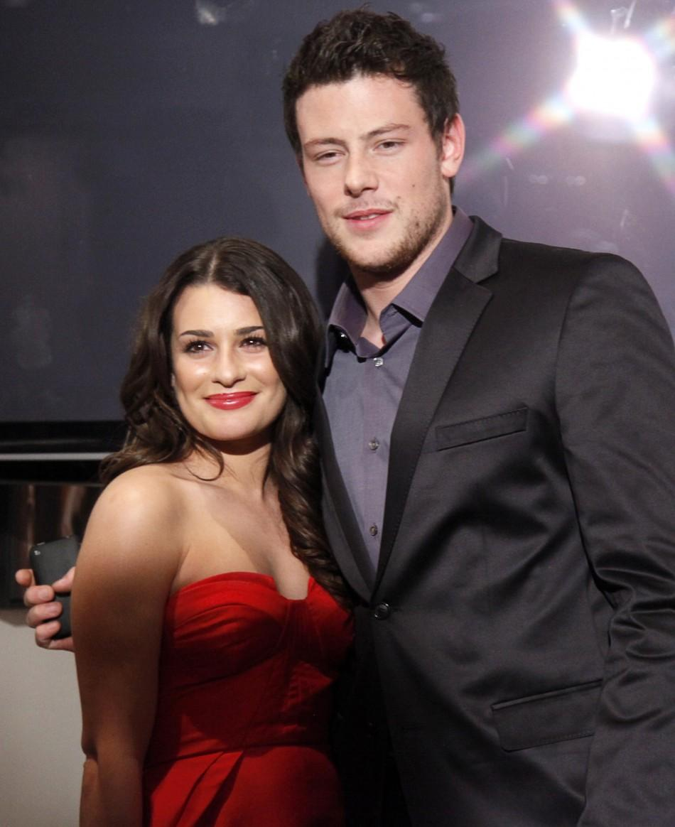 Lea michele and cory monteith dating timeline