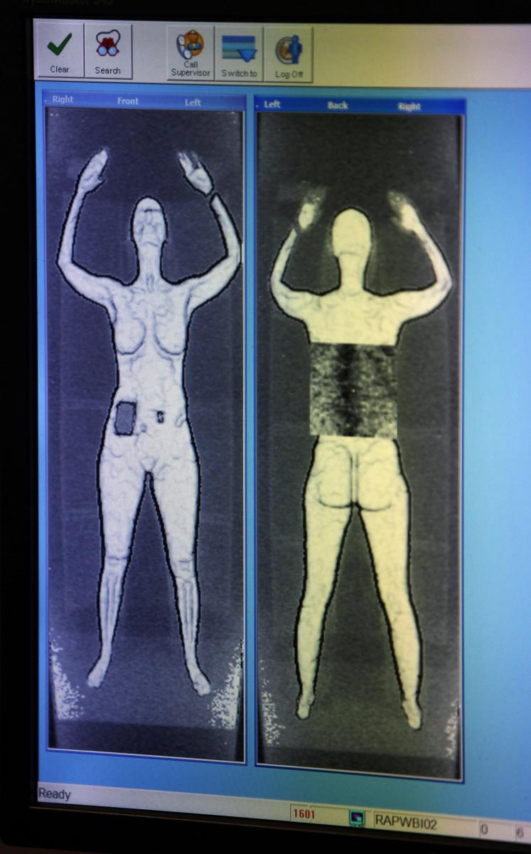 Tsa to remove a few naked body scanner machines