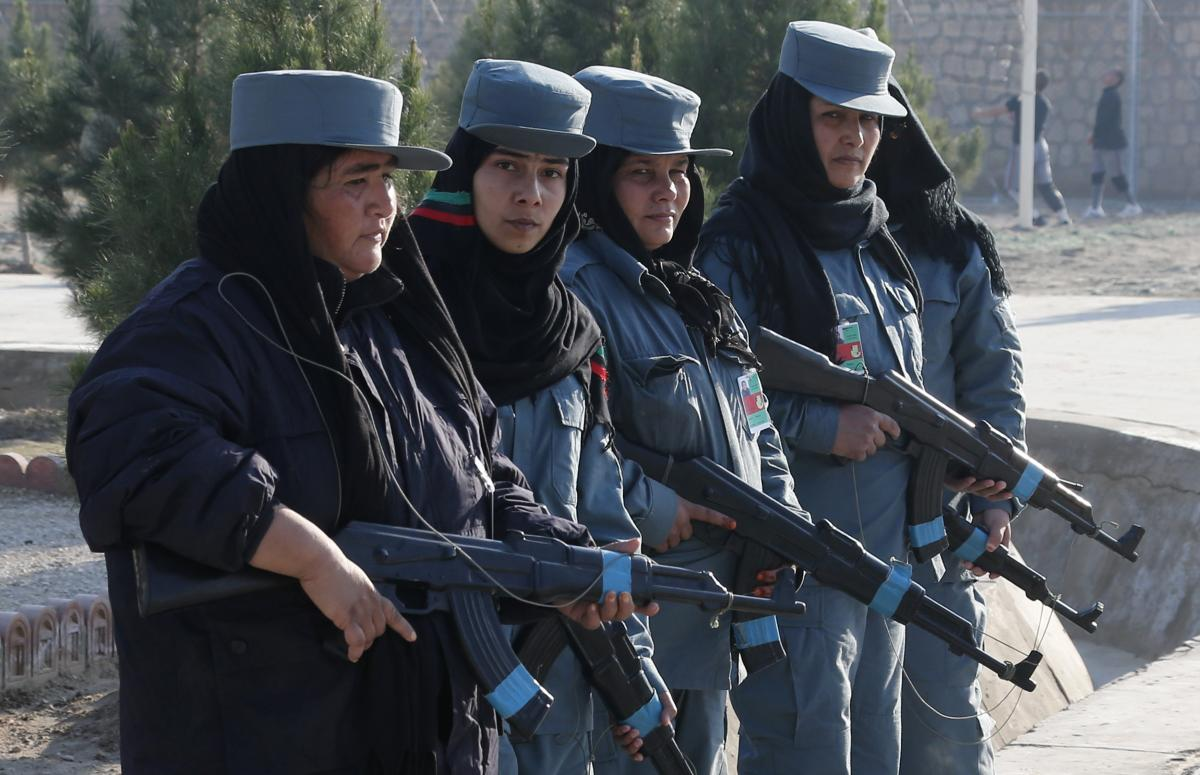 Female Afghan Police Officers Subject To Sexual Harassment And Assault By Colleagues: Human Rights Watch