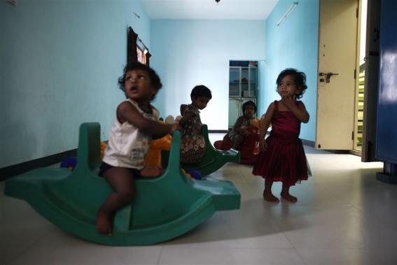 Cradle Babies Is A Government Program In Southern India