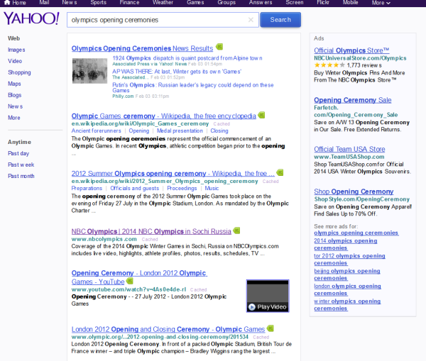 SEO Olympics: Which Search Engine Takes Home Gold For 2014