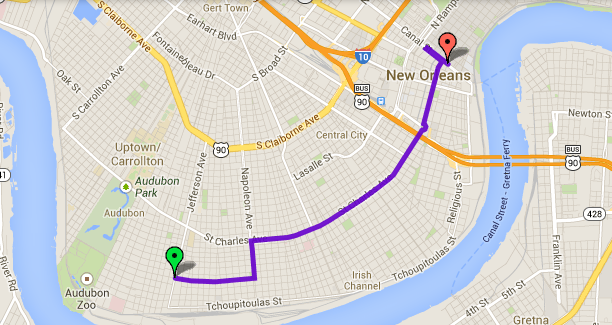 New Orleans Parade Routes Map Mardi Gras 2014: List Of Popular Parade Routes, Schedules From