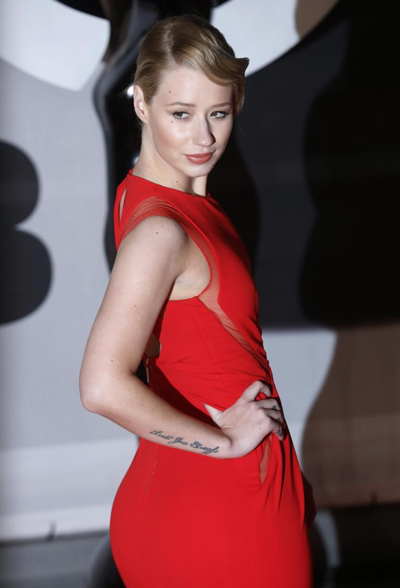 Iggy Azelea explicit nude picture leaked as star