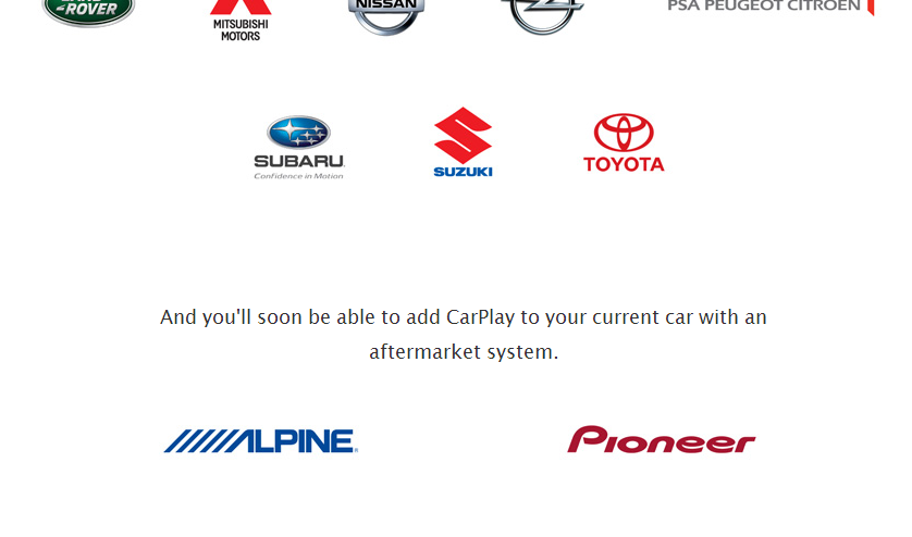 Apple CarPlay Aftermarket Support Confirmed: Pioneer And Alpine